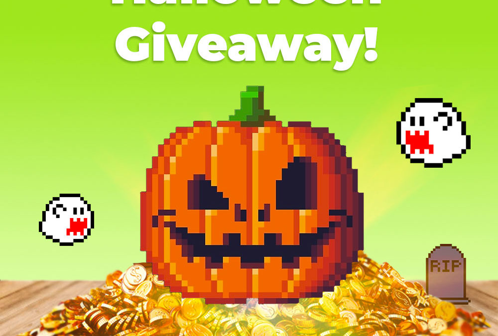Halloween Backlink Giveaway