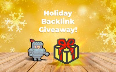 2019 Holiday Backlink Giveaway