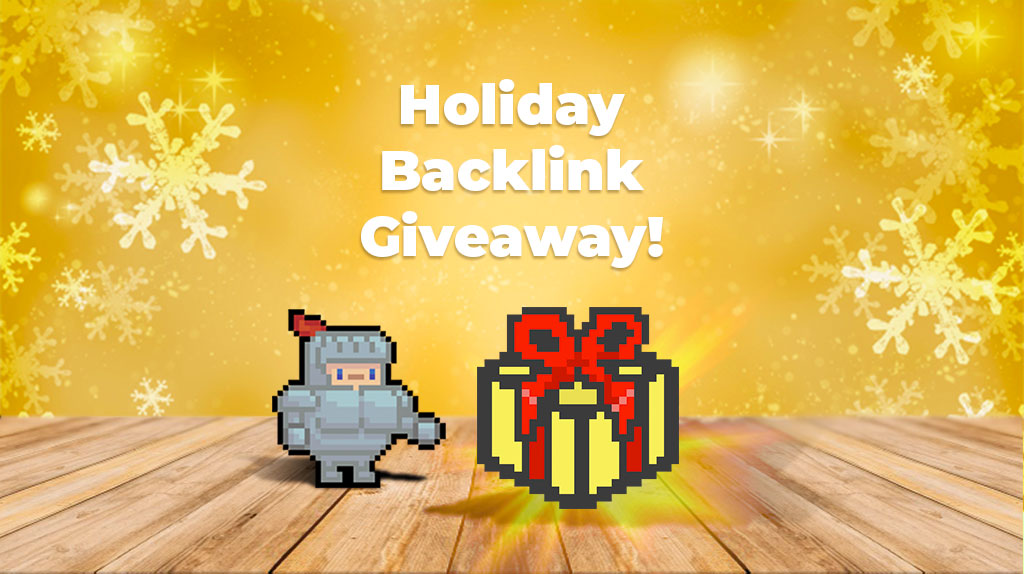 2019 Holiday Backlink Giveaway