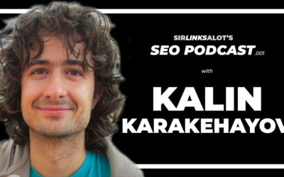 SEO Podcast .001 – Kalin Karakehayov Talks Domains