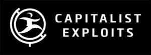 Capitalist Exploits' logo.