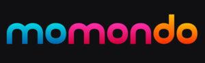 Momondo's logo.