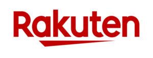 Rakuten's logo.