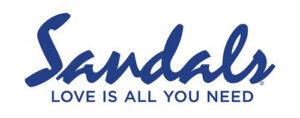 Sandals Resorts' logo.