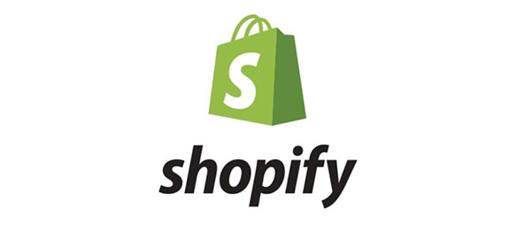 Shopify's logo.