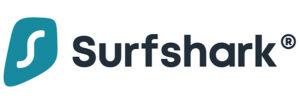 Surfshark's logo.