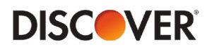 Discover's logo.