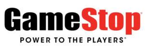 GameStop's logo.
