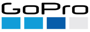 GoPro's logo.