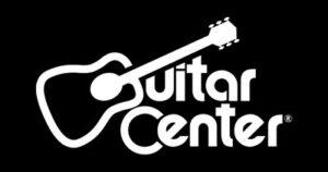 Guitar Center's logo.