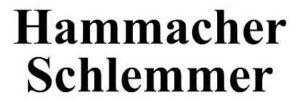 Hammacher Schlemmer's logo.