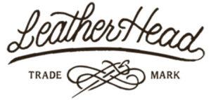Leather Head's logo.