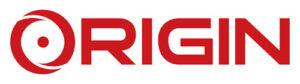 Origin PC's logo.
