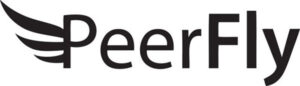 PeerFly's logo.