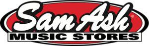 Sam Ash's logo.