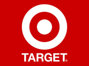 Target's logo.