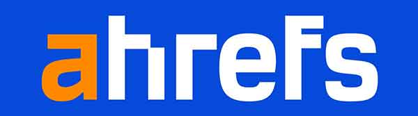 Ahref's logo.