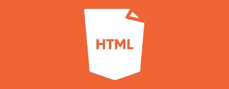 Banner for building websites in HTML for SEO.