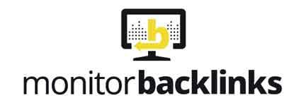 Monitor Backlinks' logo.
