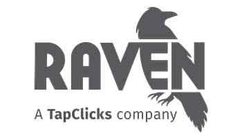 Raven Tools' logo.