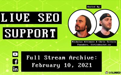 Live SEO Support 2/10/21 – Full Episode
